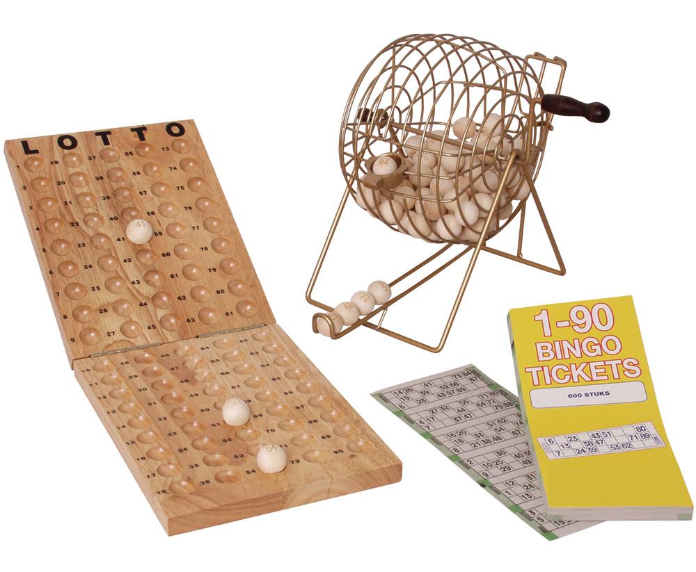 bingo spiel holz
