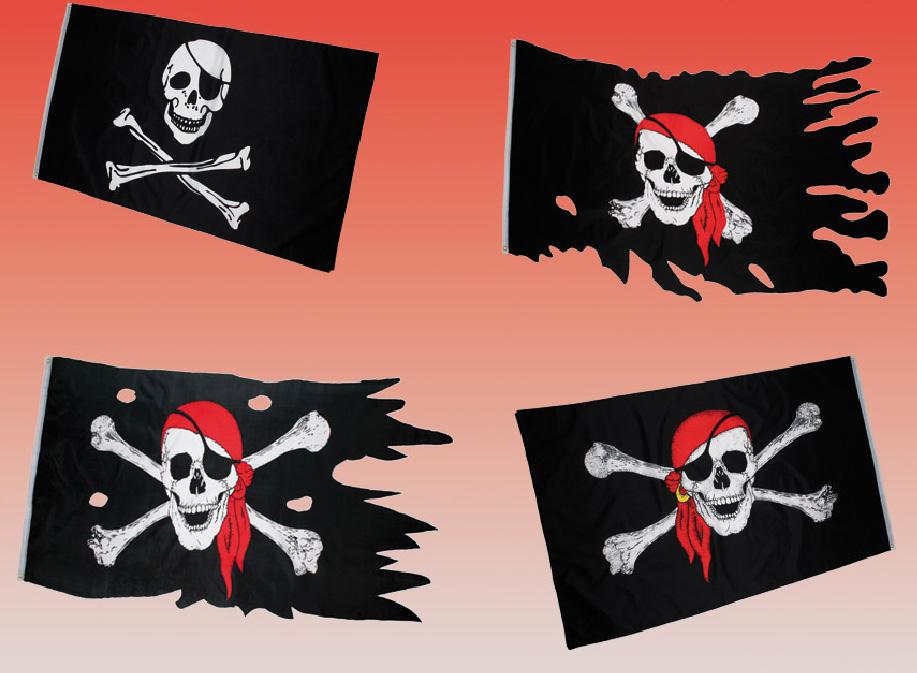 PIRATENFLAGGE Totenkopf Piraten-Flagge Piratenfahne Piraten Seeräuber Fahne NEU